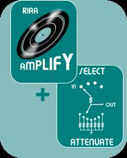 phono passive pre- amplifier